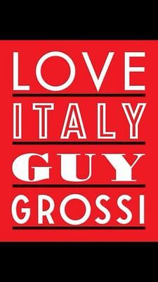 Love Italy by Guy Grossi (Hardback, 2013) brand new free postage