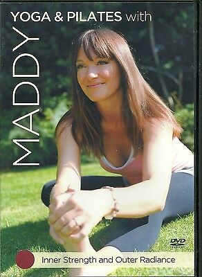 Yoga & Pilates With Maddy Dvd Inner Strength And Outer Radiance