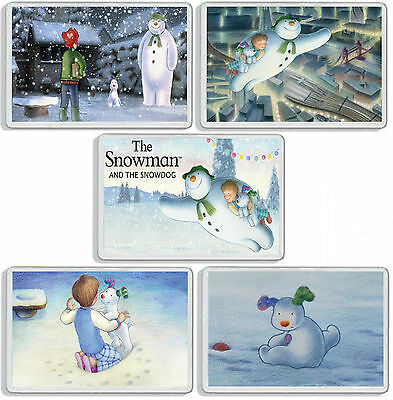 The Snowman And The Snowdog Classic Christmas Dvd Movie Fridge Magnets Uk Seller