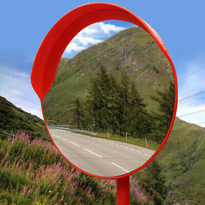 Traffic Wide Angle Security Curved Convex Mirror For Traffic Driveway Shop