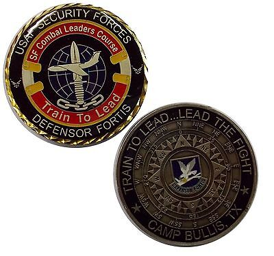 US Air Force Security Forces - Camp Bullis, Texas Challenge Coin