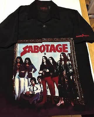 Black Sabbath - Sabotage Shirt By Dragonfly, Ozzy Osbourne, Dio, Deep Purple