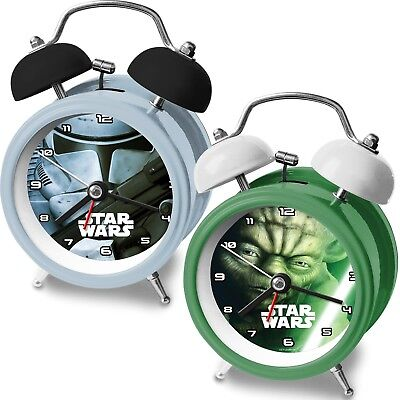 Disney Frozen Metall Kinder Wecker Kinderwecker Alarm Analog Zeiger Star Wars