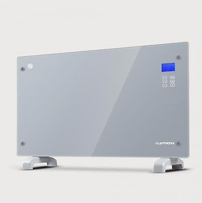 Electric Convector Heater Glass Panel 2000W Portable Indoor Convection Heating