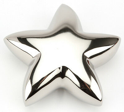 "Star Nickel 4"" Cremation Ashes Keepsake Urn UU460001A"