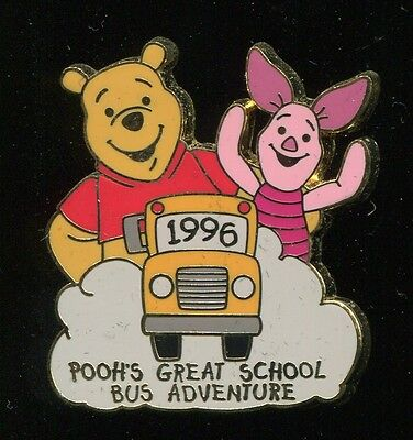 #74 100 Years of Dreams Pooh's Great School Bus Adventure Disney Pin 8275