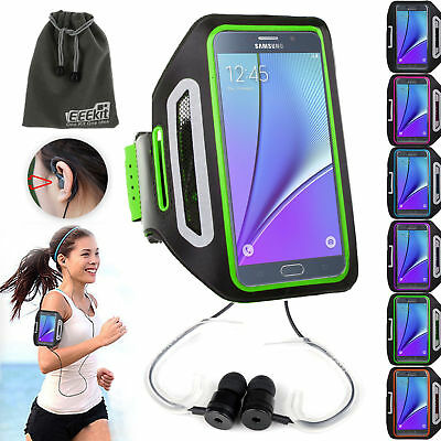 EEEKit for Smart Phone Premium Sports Armband Gym Running Jogging Case+Earphone