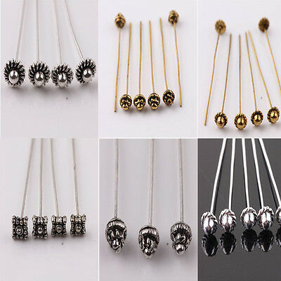 New Practical 20 Pcs 9 Colors Hat Pins Long Head Pins Needles DIY Gift Jewelry