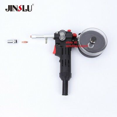 150A Metal Gear MIG Spool Gun Aluminum Welder 24V DC Standard Spool No Cable
