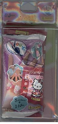 """25 Stickers Panini """"hello Kitty B-Cool""""+1 B-Joux Violet Sous Blister Neuf"""