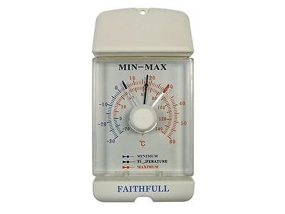 Faithfull - Thermometer Dial Max- Min