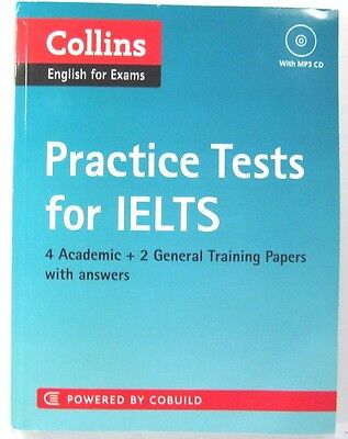 Collins English for Exams Practice TESTS for IELTS  POWERED WITH CD WITH ANSWERS