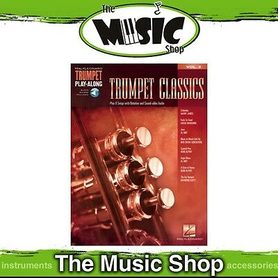 New Trumpet Classics Trumpet Play Along Music Book & OLA - Volume 2