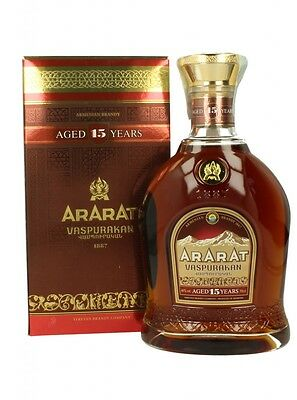 Ararat Vaspurakan 15 Year Old Armenian Brandy 700ml