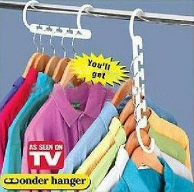 Space Saver Hanger Wonder Closet Organizer Magic Hanger c