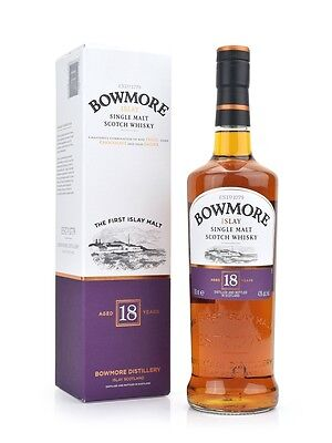 Bowmore 18 Year Old Single Malt Scotch Whisky 700mL