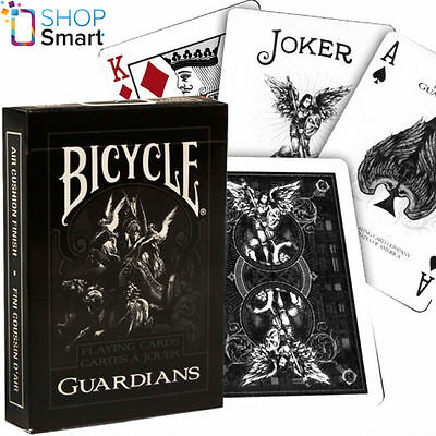 Bicycle Guardians Playing Cards Deck Theory 11 Magic Tricks Uspcc Sealed New