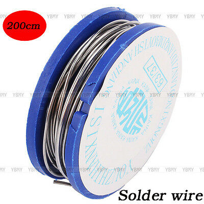 170cm Reliable 0.8mm 11g Tin Lead Rosin Core Solder Welding Iron Wire Reel 63/37