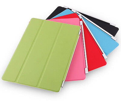 NEW Tri-Flip Smart Magnetic Slim Leather Folding Cover Case Skin For iPad Air 2