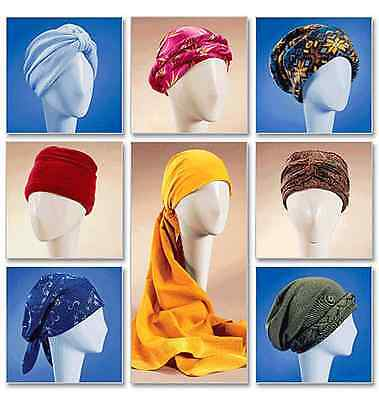 NEW | McCalls Misses Sewing Pattern 4116 Turban, Headwrap & Caps | FREE SHIPPING
