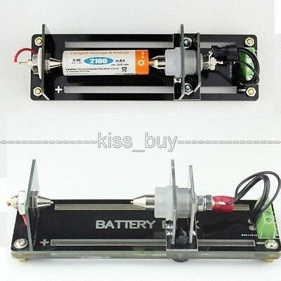 4-wire Test Stand Battery Holder for 26650,3.7v 18650, AA, AAA, Button Battery