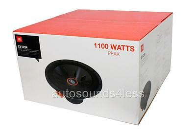 JBL S2-1224SS SERIES II 1100 WATTS 12 SELECTABLE 2 OR 4 OHM SUBWOOFER ENCLOSURE