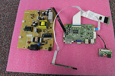 """New Dell P190s w/LG 19"""" LCD Monitor Power Supply Board & LCD Controller"""