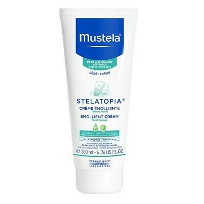 Mustela Stelatopia Emollient Cream 200Ml Soothes Itchy Atopic Prone Skin