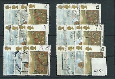 Gb - Commemoratives - 1979 - W52 - Six Sets - Horse Racing - Used