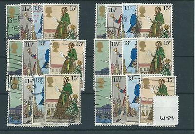 Gb - Commemoratives - 1979 - W54 - Six Sets - Sir Rowland Hill  - Used