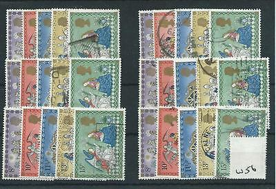 Gb - Commemoratives - 1979 - W56 - Six Sets - Christmas  - Used