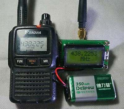 Frequency Counter tester meter 1 ~500MHz + Antenna Digital LCD for Ham Radio