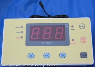 ATC-800+ Aquarium / Home Brew Temperature Controller Unit for Cooler or Heater