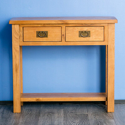 Side Table Surrey.Surrey Oak Hall Table Solid Wood Console Table Side