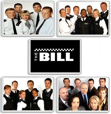 The Bill Classic Tv Police Drama And Dvd Series Fridge Magnets Uk Seller