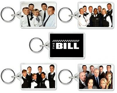 The Bill Classic Tv Police Drama And Dvd Series Keyrings Uk Seller