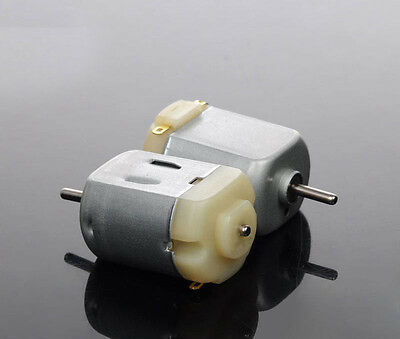 2PCS DC 3V 6V 9V 12V 130 Motor 3000 RPM For DIY electric toy car Small fan