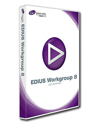 Grass Valley EDIUS Workgroup 8 Upgrade von Pro 7