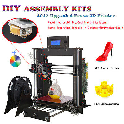New High Quality Precision Reprap Prusa i3 DIY 3d Printer