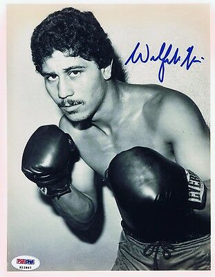 Wilfredo Gomez Signed/Autographed Boxing 8x10 Photo - w/PSA/DNA COA