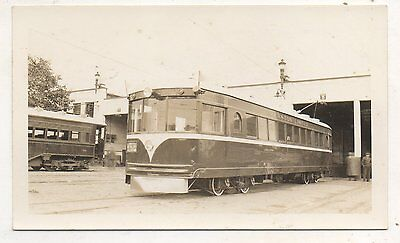 LEHIGH VALLEY TRANSIT CO Trolley ALLENTOWN PA Pennsylvania 1938 Photograph 3