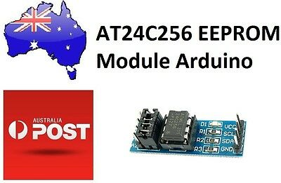AT24C256 Serial EEPROM I2C Interface EEPROM Data Storage 256kBModule for Arduino