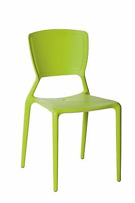 New CHAIR Replica Viento Stackable Cafe Dining Chairs Wasabi Restaurant