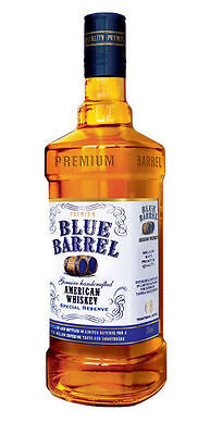 Blue Barrel Bourbon SPECIAL RESERVE American Whiskey