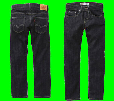 NEW Boys Original LEVI'S 511 Denim Jeans Slim Fit Kids Indigo Size Age 4-16