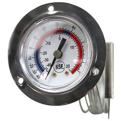 -40 - 65 F Refrigerator Freezer Thermometer Walk-In same day shipping