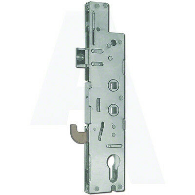 Fullex XL Lever Operated Latch & Hookbolt Single Spindle Gearbox 35mm Backset
