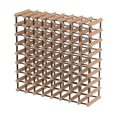 72 Bottle Timber Wine Rack - Fully Assembled and Delivered