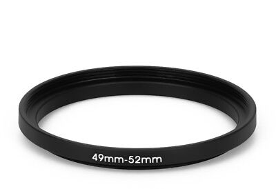 49 mm - 52 mm Filter Adapter Step-Up Adapter Filteradapter Step Up 49-52