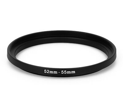 52 mm - 55 mm Filter Adapter Step-Up Adapter Filteradapter Step Up 52-55